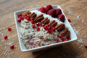 Overnight Quinoa Coconut Oats