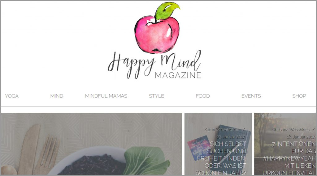 Meine 11 liebsten deutschsprachrigen Yoga Blogs Happy Mind Magazine