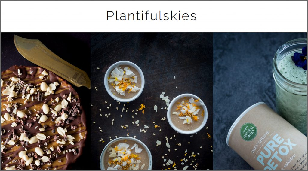 Meine liebsten Food Blogs vegan glutenfrei zuckerfrei plantifulskies