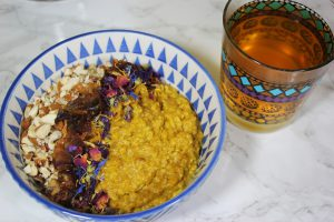 Ayurvedisches Golden Milk Porridge